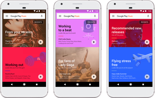 Google Play Music Is Getting A Makeover