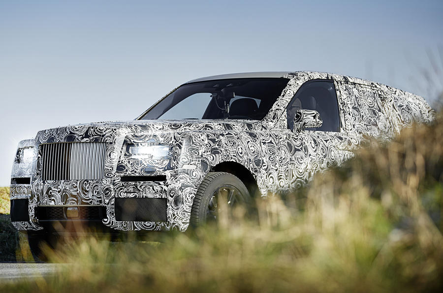 Rolls Royce Has Released Images Of The Upcoming Cullinan