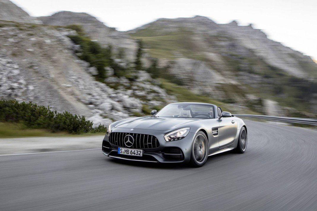 Meet The AMG GT Roadster—And Its Wilder Derivative, The AMG GT C Roadster