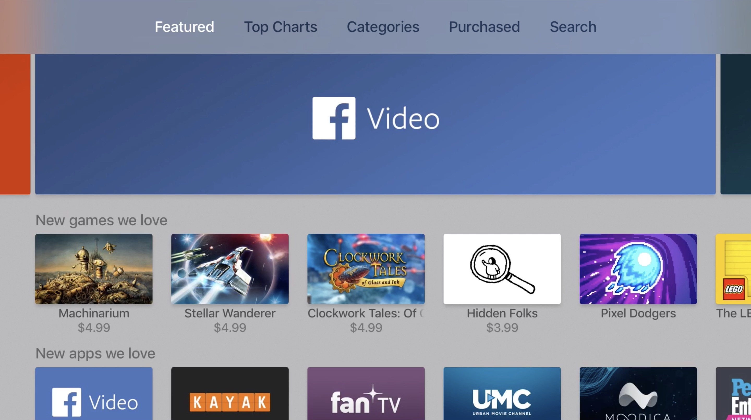 Facebook officially released its video-centric app on the fourth-gen Apple TV