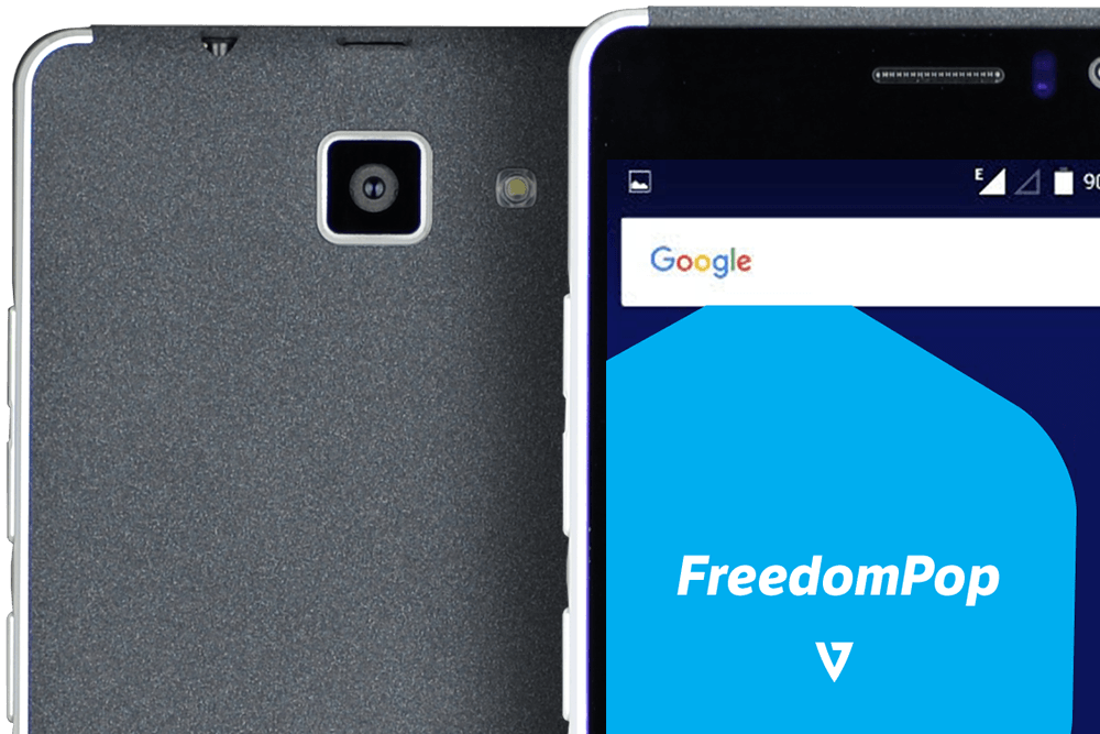 FreedomPop unveiled its first ever own-branded Android phone — the FreedomPop V7