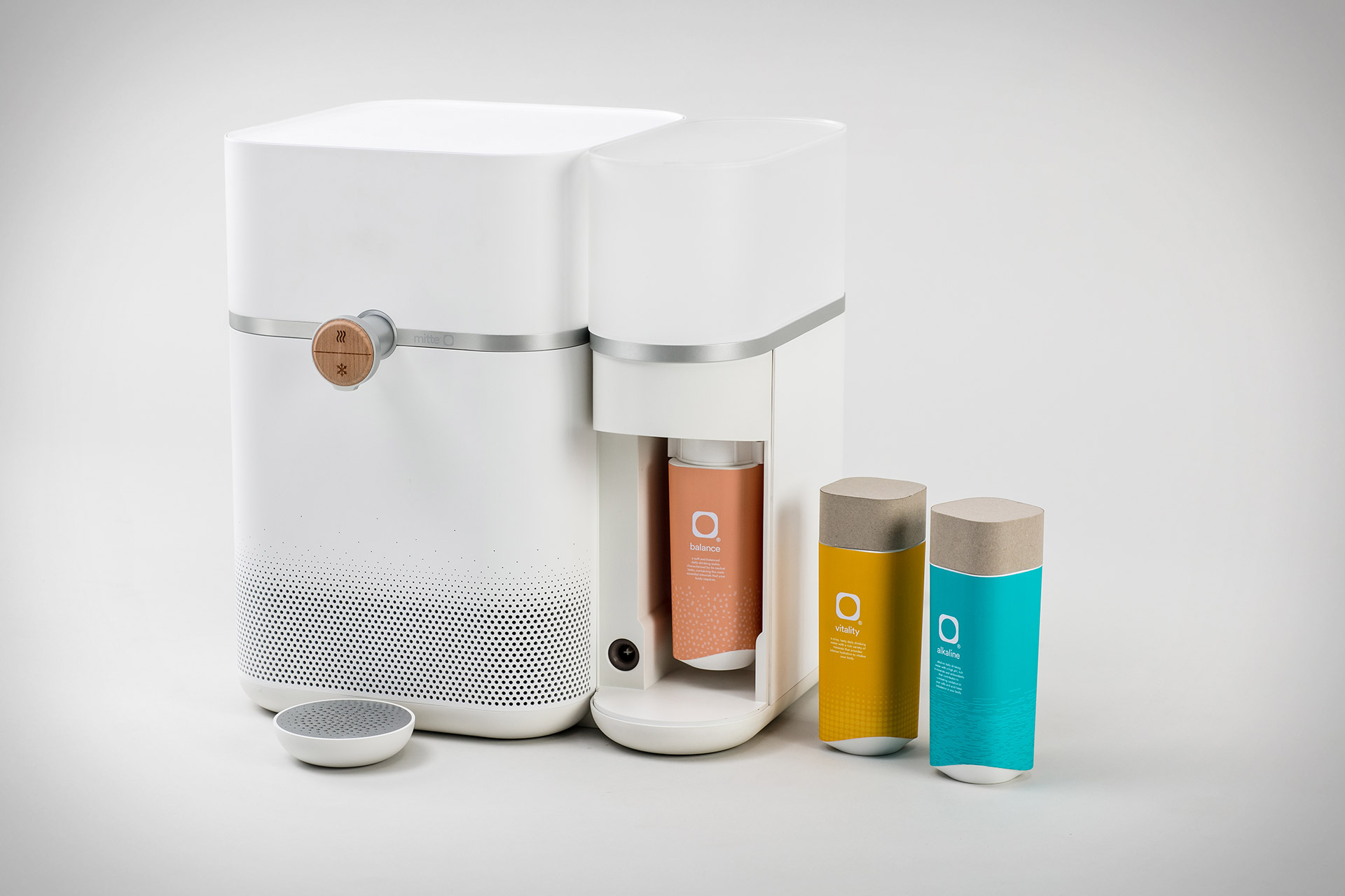 The Mitte water purification system offer you water that suits you
