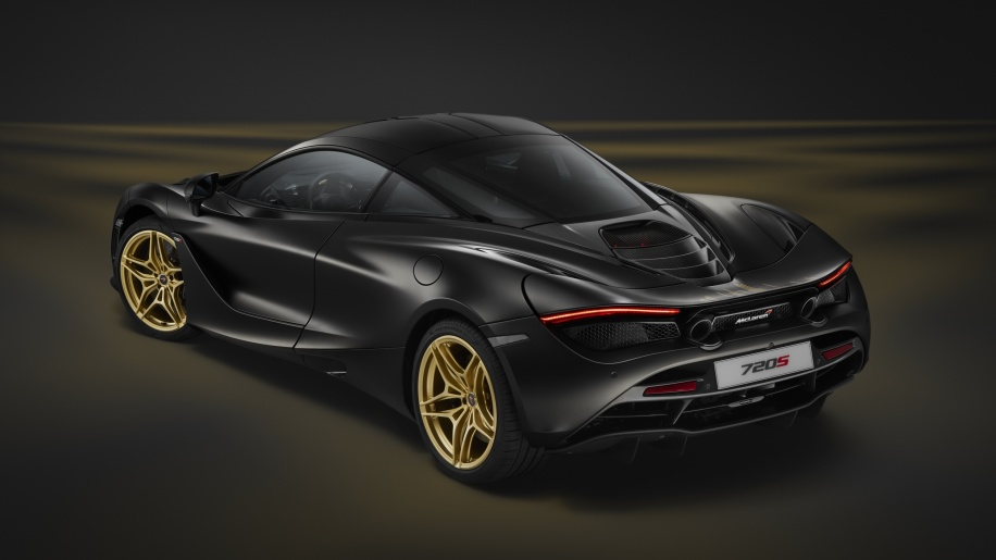 A one-off McLaren 720S has been unveiled at this year's Dubai International Motor Show