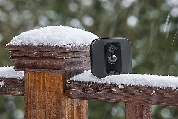 Blink XT home security camera can be set up anywhere inside or outside your home