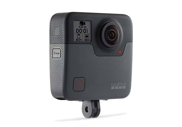 GoPro Fusion waterproof VR camera has been available now