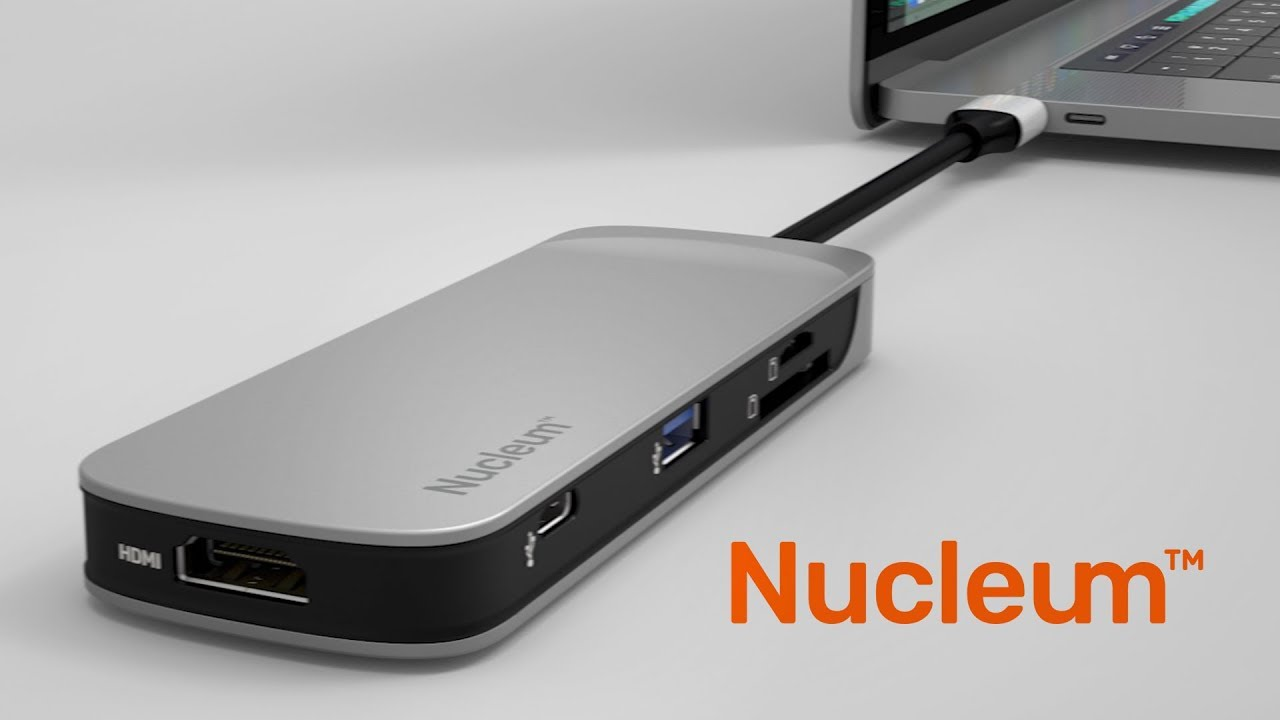 KINGSTON NUCLEUM LETS YOU MORE CONVENIENTLY CONNECT EXTERNAL DEVICES WITH YOUR MACBOOK