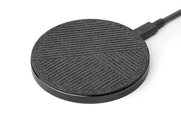 Native Union DROP wireless charger delivers an elegant way to charge your Qi-equipped smartphone