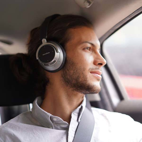 Anker Soundcore Space NC Bluetooth headphones let you enjoy immersive listening experience