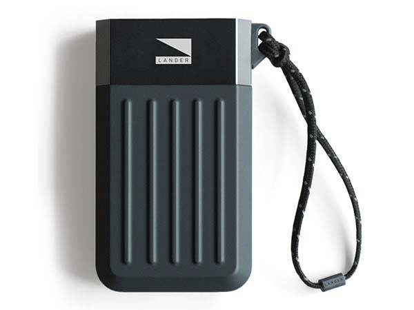 Lander Cascade portable power bank has been ready to power your mobile devices in various environments