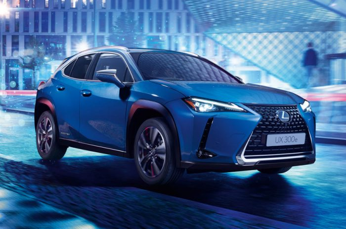 World Premiere Of First Lexus Ev, The Ux 300e